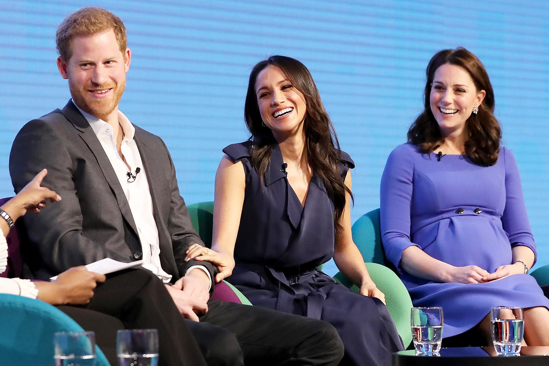 Prince Harry Meghan Markle Duchess Kate Royal Foundation Forum