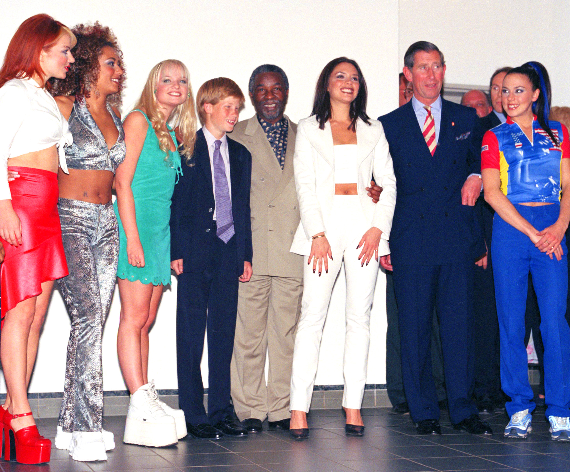 Prince Harrys 1997 Meet And Greet With The Spice Girls Resurfaces