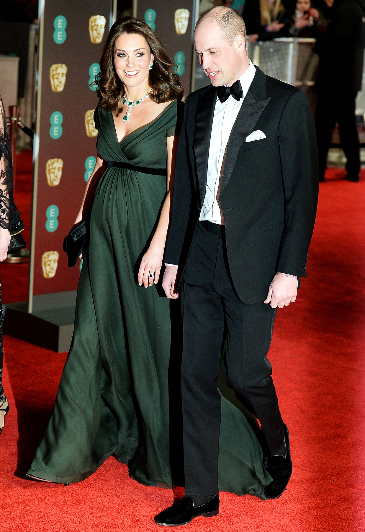 Prince William Kate Middleton BAFTA