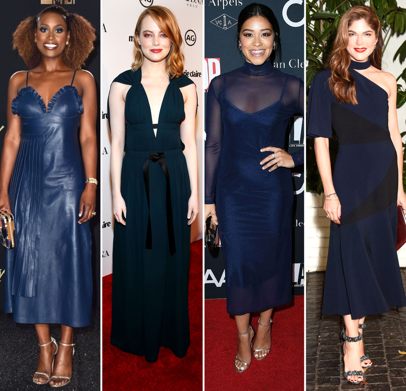 1111ea1a3d31 Navy Is the New Black: See 10 Top Red Carpet Looks in the Hot New Shade!