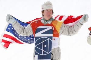 Red Gerard, United States, Winter Olympics, Gold Medal, Snowboard, Men's Slopestyle Final