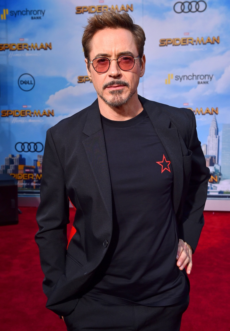 Celebrities' Shocking Pasts Robert Downey Jr.