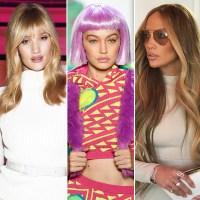 Rosie Huntington Whiteley, Gigi Hadid, Jennifer Lopez