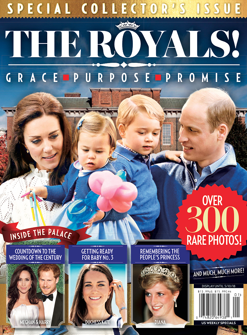 Us Weekly Royals Special Issue cover Kate Middleton Prince William George Charlotte