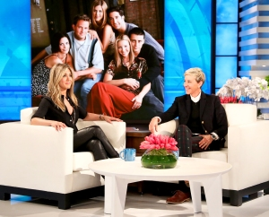 Jennifer Aniston on 'The Ellen DeGeneres Show'