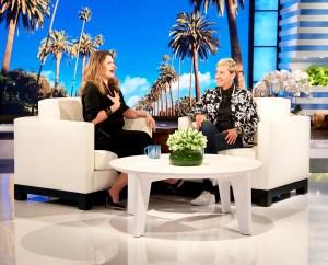 Drew Barrymore on 'The Ellen DeGeneres Show'