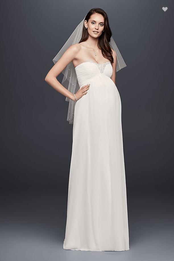 John Stamos Weds Caitlin McHugh: Shop Maternity Wedding Dresses