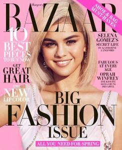 Selena Gomez Harper's Bazaar Cover