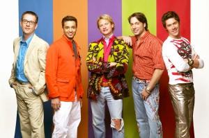 'Queer Eye' stars Ted Allen, Jai Rodriguez, Carson Kressley, Thom Filicia and Kyan Douglas