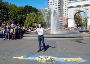 Host Phil Keoghan on The Amazing Race
