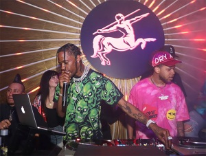 Travis Scott, MVP Weekend, Avenue Los Angeles, Remy Martin