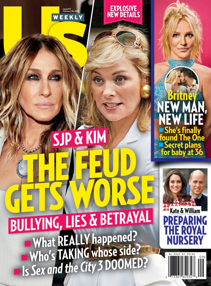 Us Weekly cover Sarah Jessica Parker Kim Cattrall feud