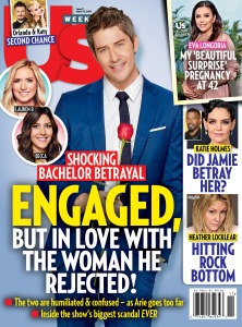 Us Weekly cover Arie The Bachelor