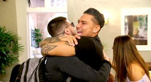 Vinny and Pauly on Jersey Shore Family Vacation