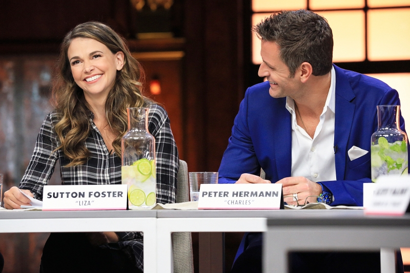 Sutton Foster Peter Hermann Younger Cast Reunite For First Table Read