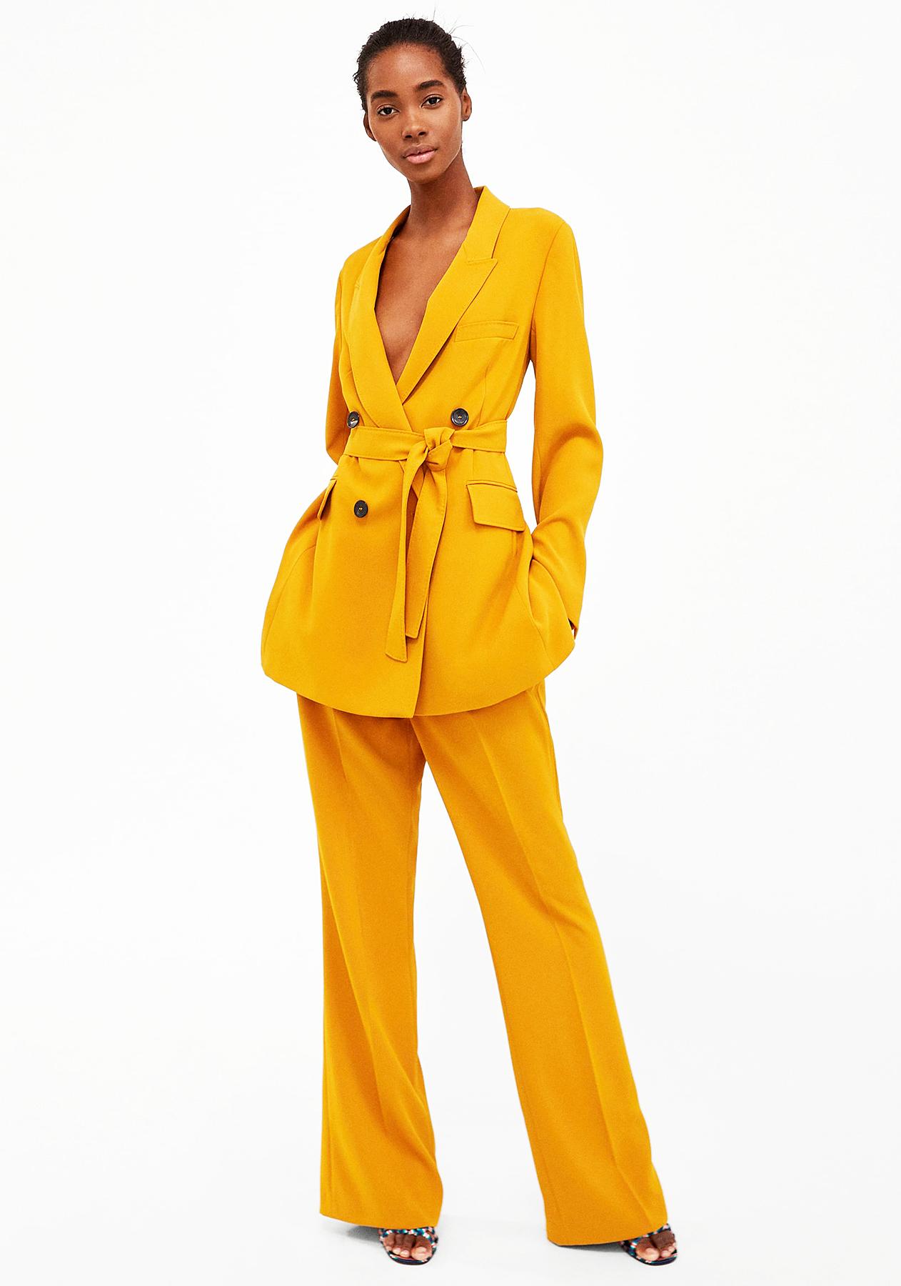 Emily Ratajkowski $200 Zara Wedding Suit: Details