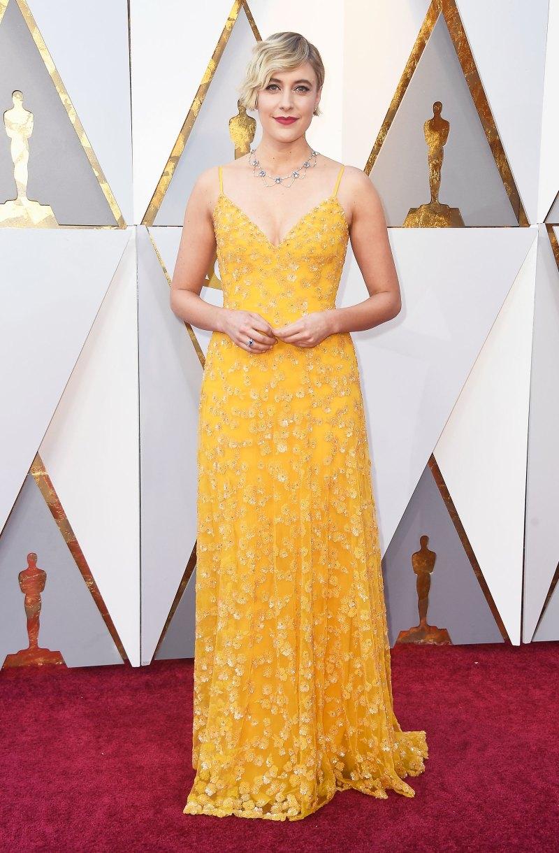 Greta Gerwig AA Oscars 2018