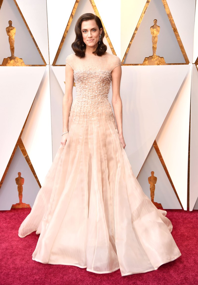 Allison Williams AA Oscars 2018