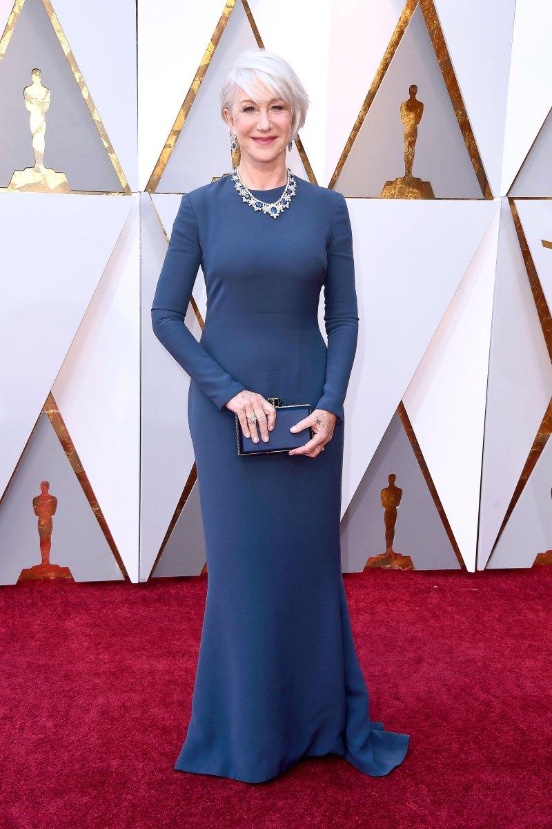 Helen Mirren AA Oscars 2018