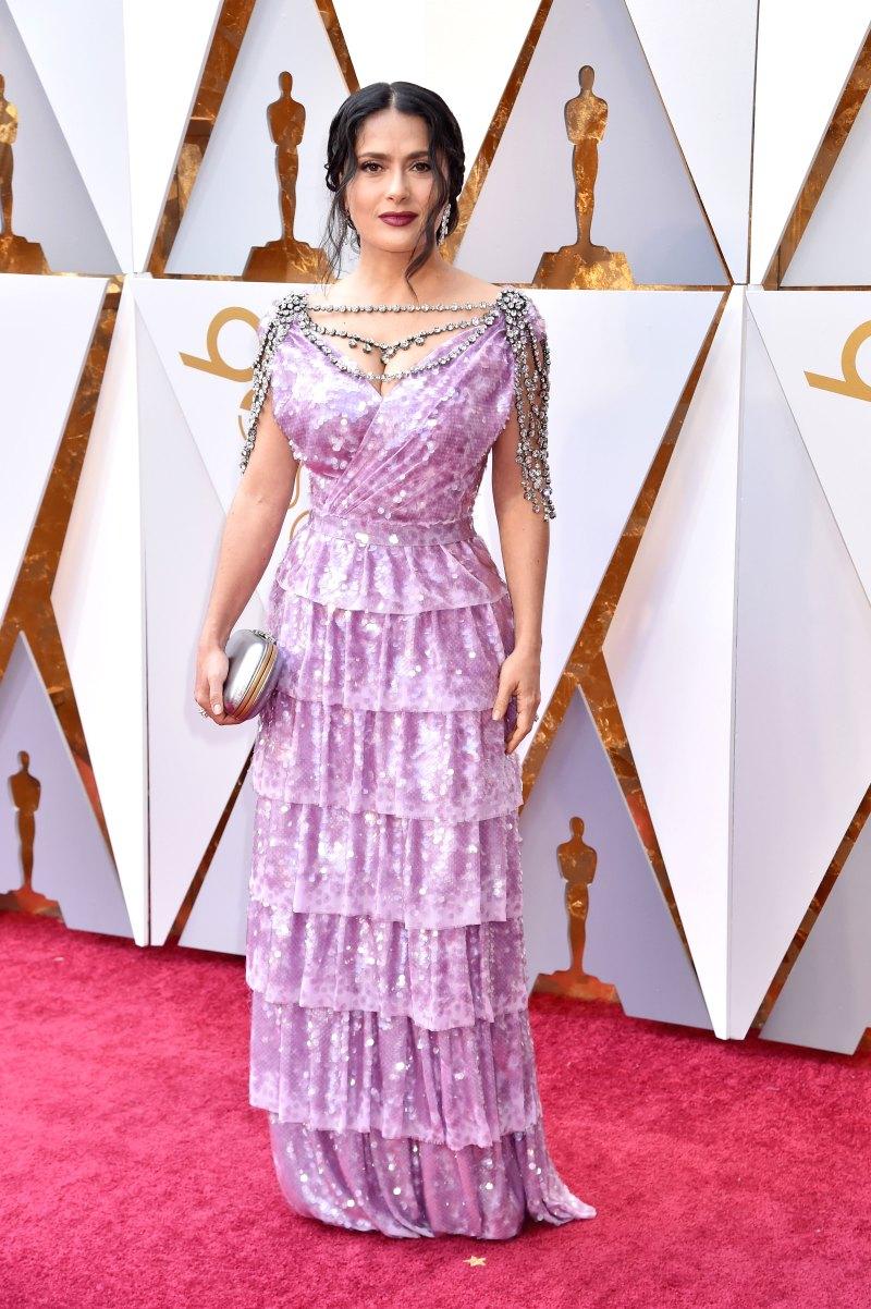 Salma Hayek AA Oscars 2018
