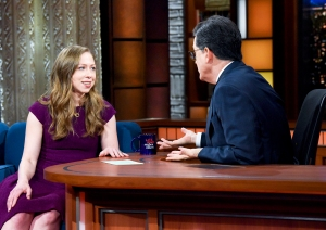 Chelsea Clinton on 'The Late Show with Stephen Colbert'