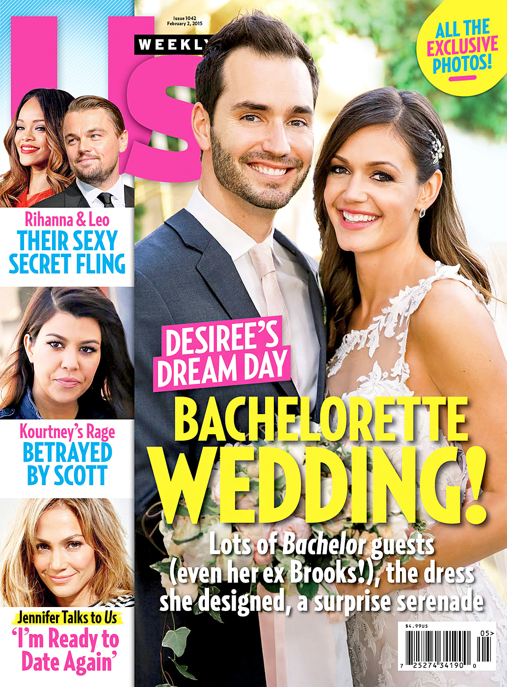 Bachelor Nation Us Weekly Covers Desiree Hartsock Chris Siegfried