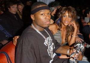 Rapper 50 Cent and actress Vivica Fox