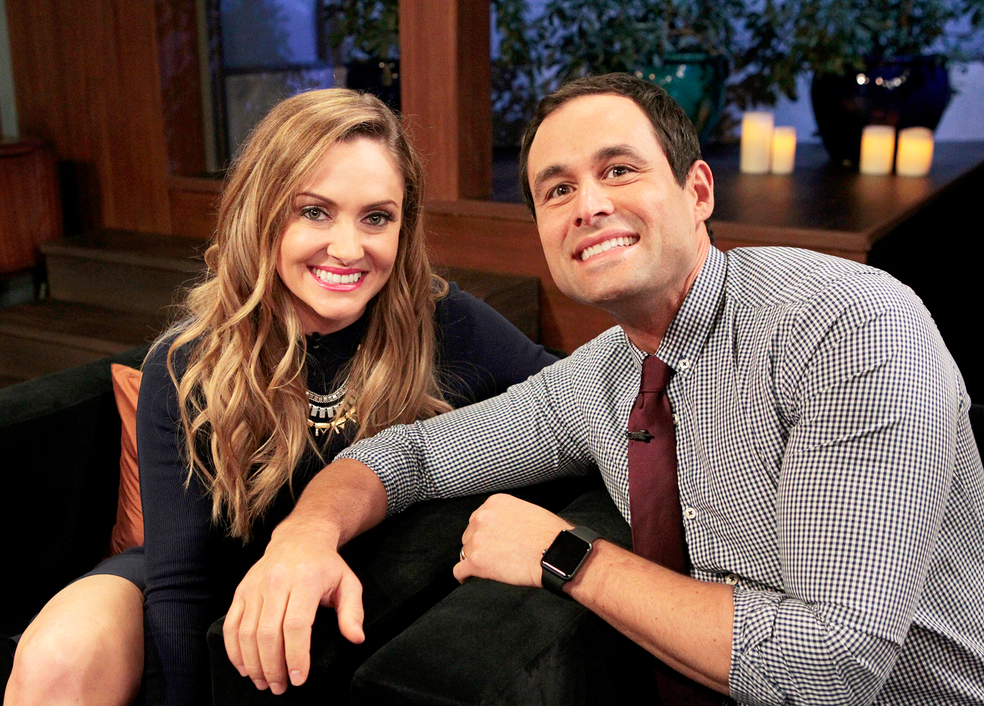 Molly Mesnick and Jason Mesnick on ABC's after-show 'Bachelor Live' - Molly Mesnick and Jason Mesnick on ABC's after-show 'Bachelor Live'