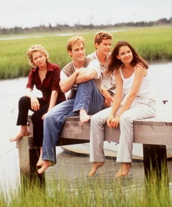 'Dawson's Creek' stars Michelle Williams, James Van Der Beek, Joshua Jackson and Katie Holmes