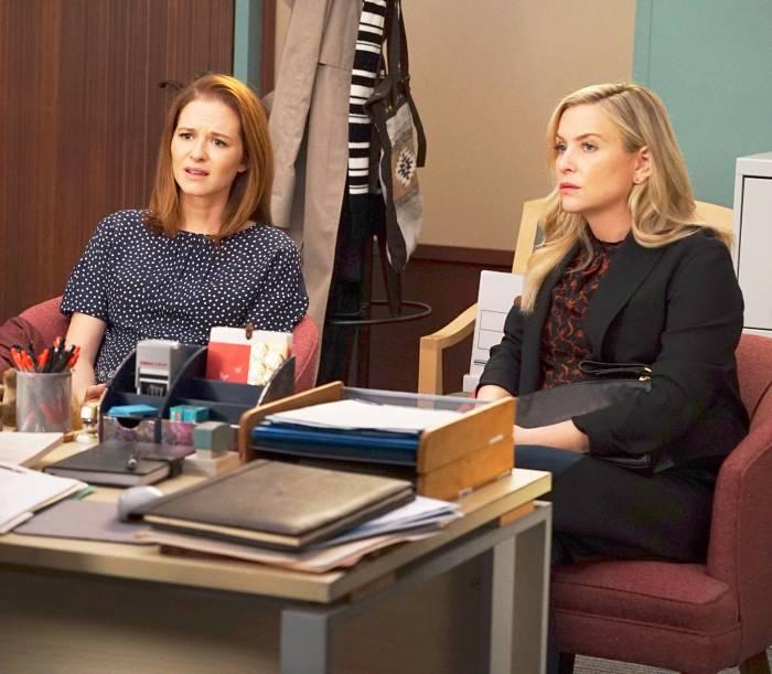 Sarah Drew and Jessica Capshaw on 'Grey's Anatomy'