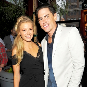 Ariana Madix and Tom Sandoval attend 'Adam Ruins Everything' 2016 Premiere screening event at The Redbury Hotel in Hollywood, California.