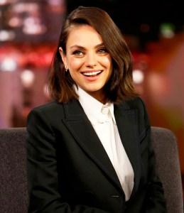Mila Kunis on ABC's 'Jimmy Kimmel Live'