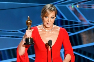 Allison Janney accepts Best Supporting Actress for 'I, Tonya' onstage during the 90th Annual Academy Awards at the Dolby Theatre at Hollywood & Highland Center on March 4, 2018 in Hollywood, California.