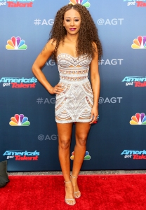 Mel B attends 'America's Got Talent' Season 13 on March 12, 2018 in Pasadena, California.