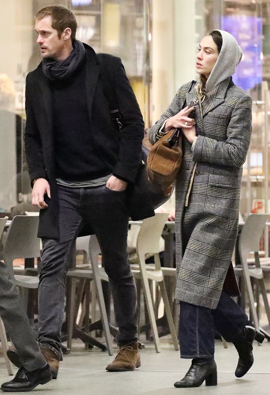 Alexander Skarsgard and Alexa Chung Reunite