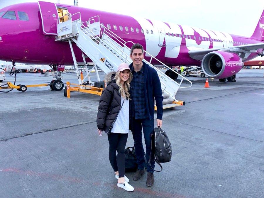 Arie Luyendyk Jr. and Lauren Burnahm Airplane