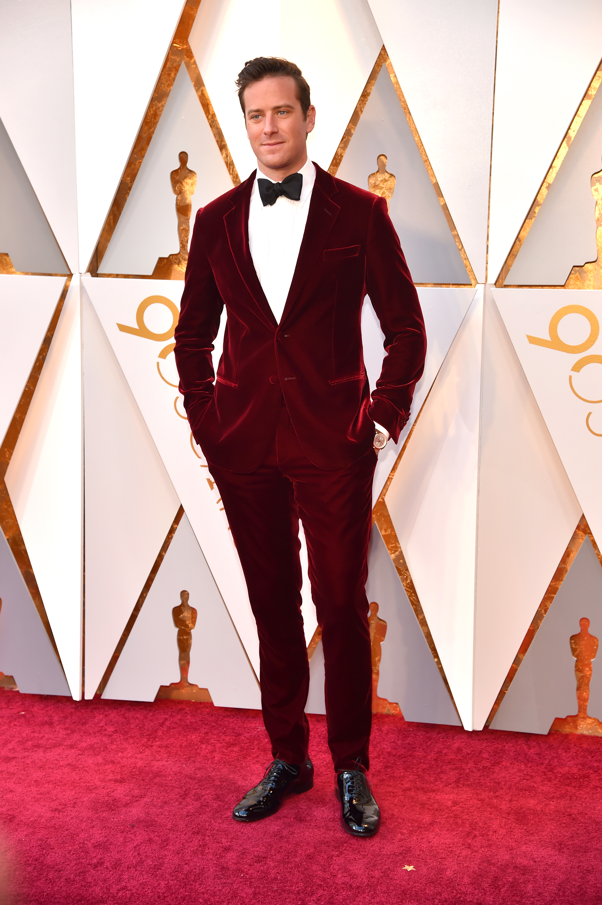 Oscars 2018 Best Dressed Men Velvet Tuxedos Suits