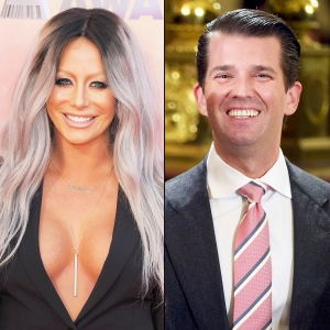 Aubrey O'Day and Donald Trump Jr.