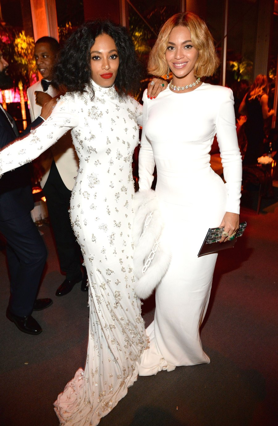 Solange and Beyonce