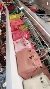 Kylie Jenner Birkin bags