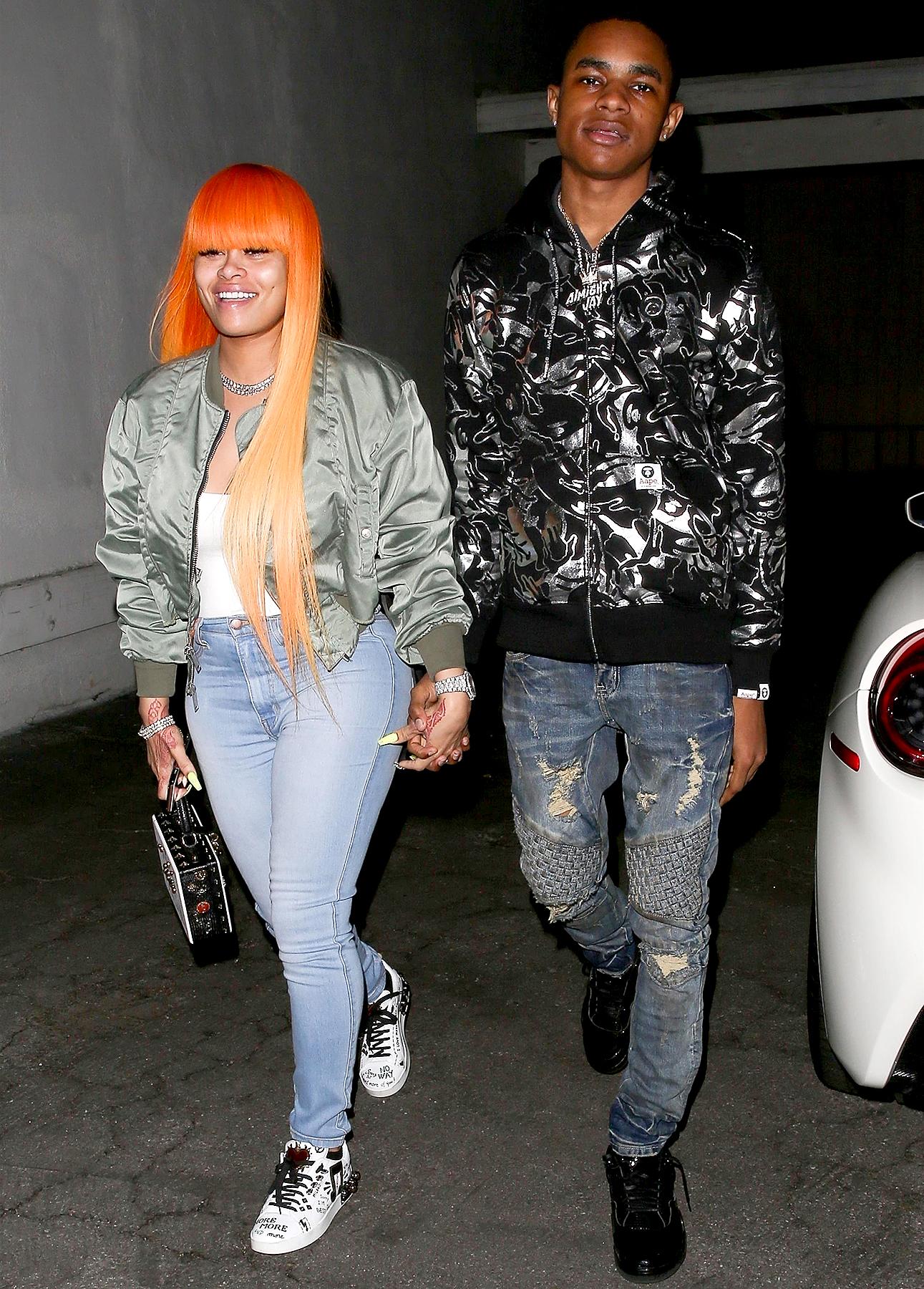 Model Blac Chyna Confirms Dating A New Boyfriend, 18-Year-Old Rapper YBN Almighty Jay