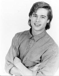 retro Brad Pitt photoshoot
