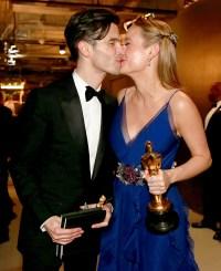 Celebrity Oscars PDA Brie Larson Alex Greenwald