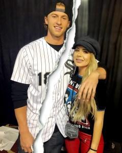 Brielle Biermann and Michael Kopech Split