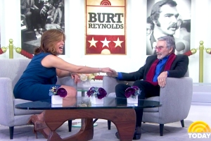 Hoda Kotb and Burt Reynolds on 'Today' show