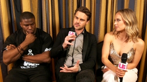 Okieriete Onaodowan, Grey Damon, and Danielle Savre