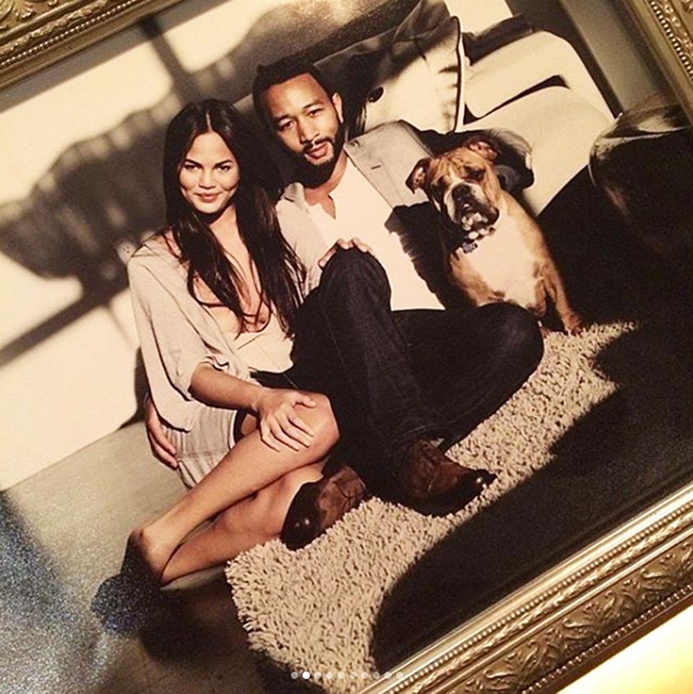 Chrissy Teigen and John Legend's Beloved Dog Puddy Dies