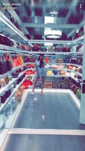Kylie Jenner closet