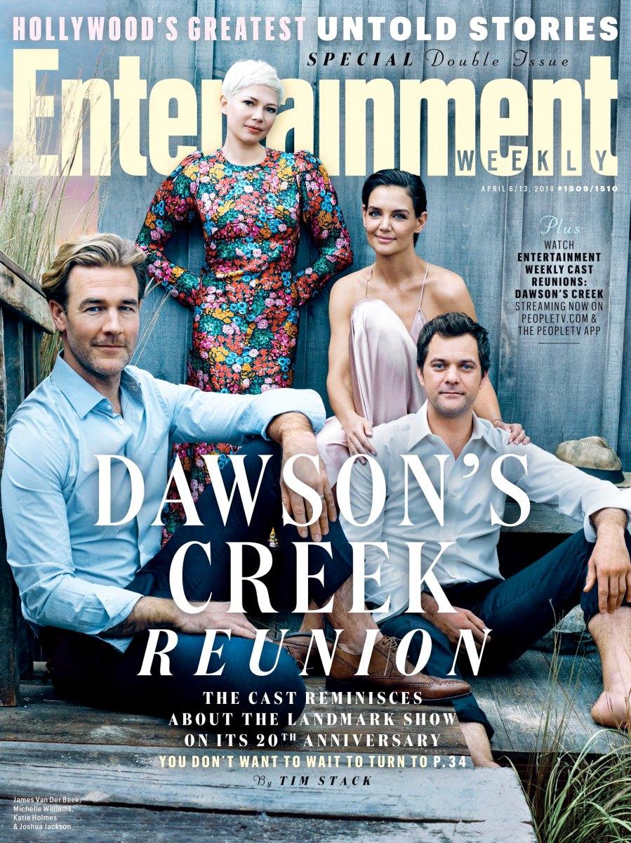 Dawson's Creek Entertainment Weekly Cover