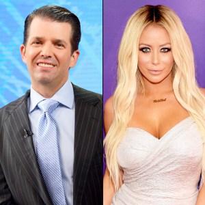 Donald Trump Jr. and Aubrey O'Day